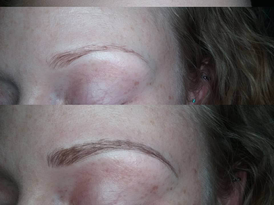 Brow Buzz - get fuller and darker eyebrows with microblading - Puyallup, WA - covering all your eyebrow needs