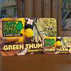 Green thumb reward card, keeps track of past purchases, ear points for rewards,