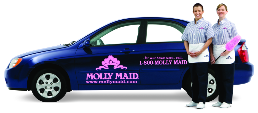 molly maid car