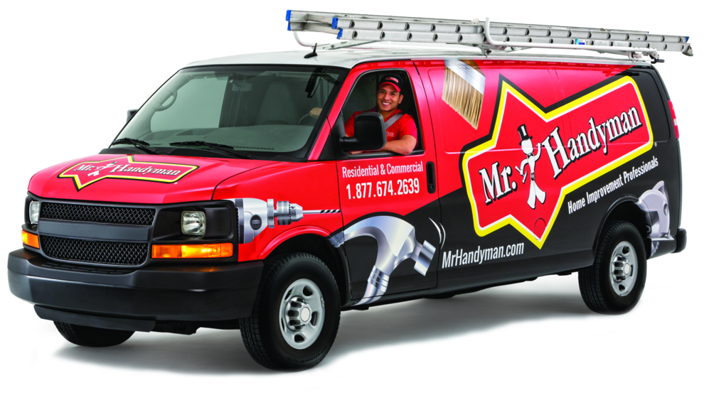 Watch for the Mr. Handyman service truck in your neighborhood