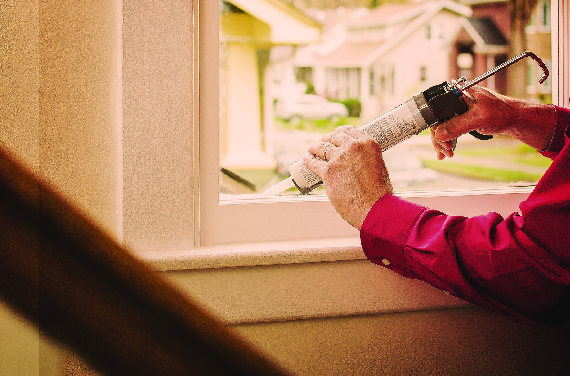 For window installation or window caulking, let Mr. Handyman help