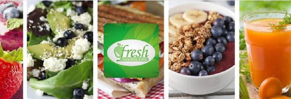 FRESH HEALTHY CAFE LOGO BANNER