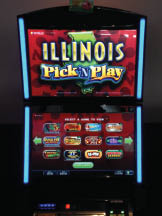 Slots at Sam's OTB in Orland Hills, Il.