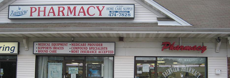 Fairview Pharmacy & Homecare Supply banner