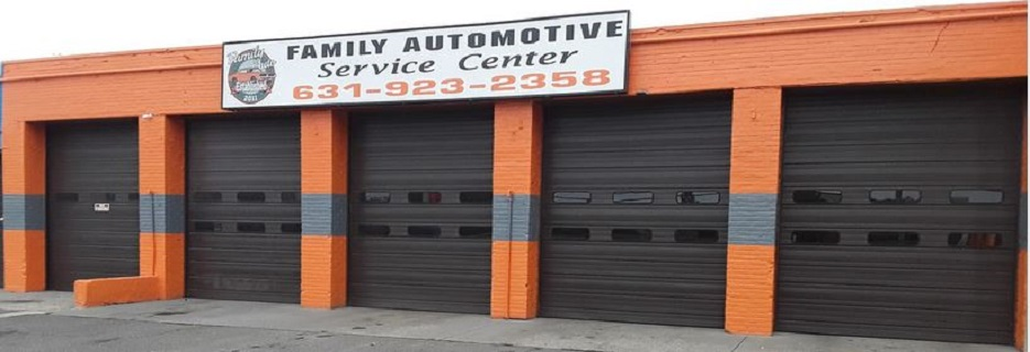 Family Automotive Service Center banner Port Jefferson Station, NY