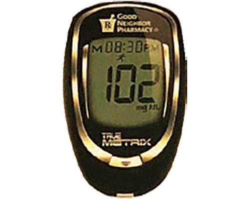 Glucose meter coupon