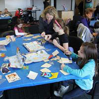 Kid's Workshop at Home Improvement Show at the YMCA Community Center - Andover