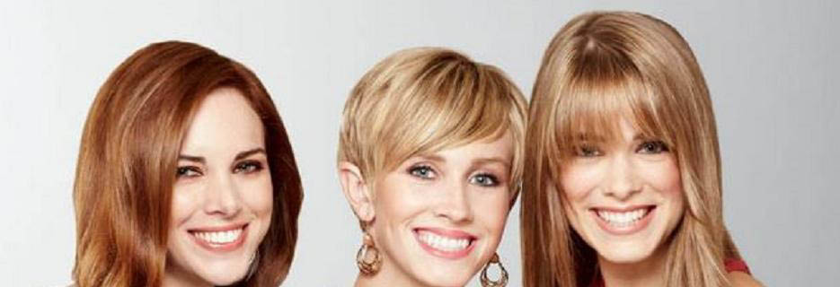 photo of 3 women with great haircuts from Fantastic Sams