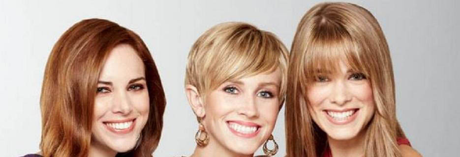 photo of three women with great haircuts from Fantastic Sams