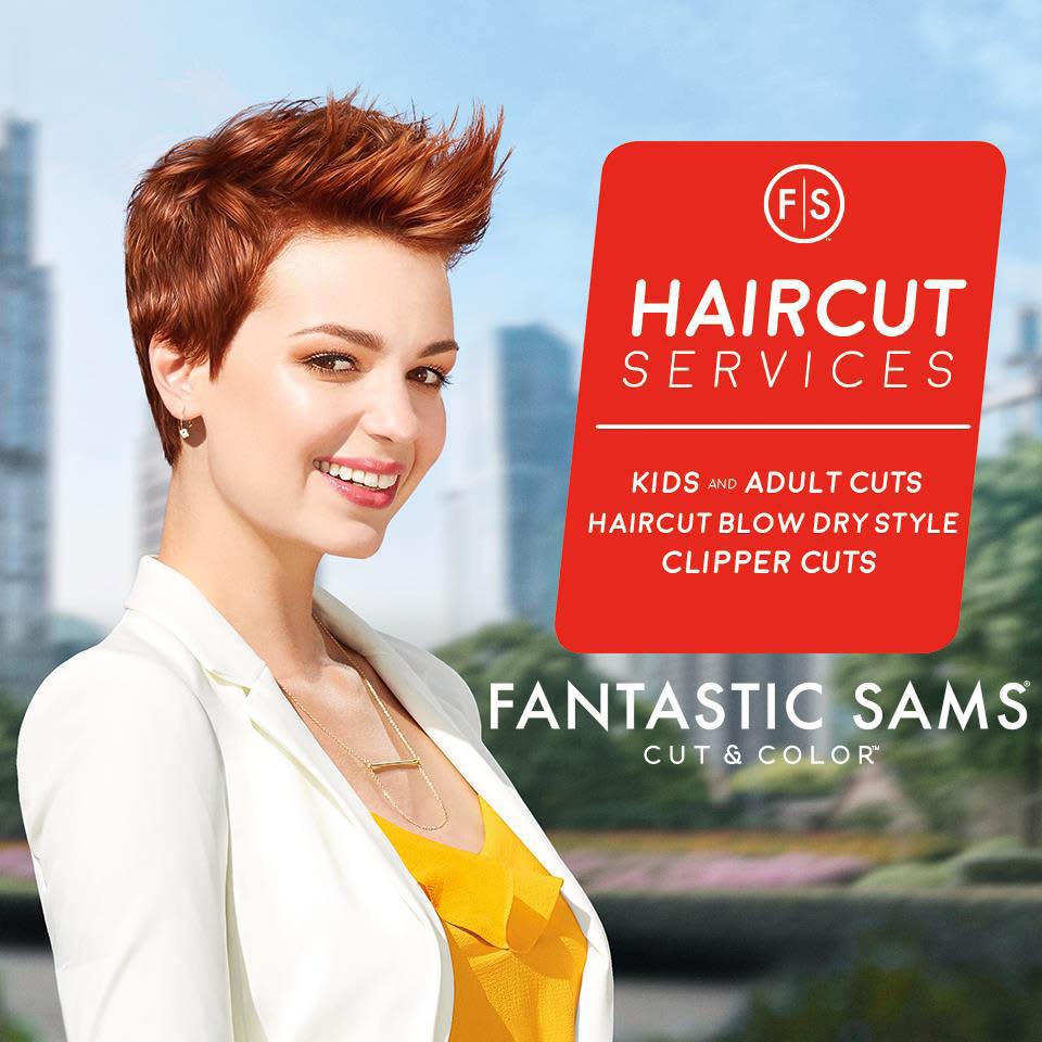 Edgy short haircuts for women at Fantastic Sams