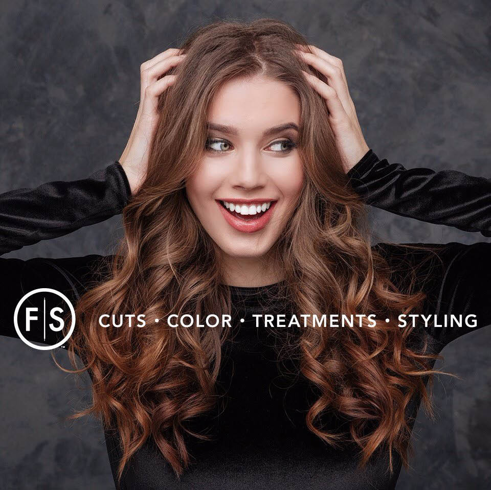 Long curly hair or sleek textured hair - you decide