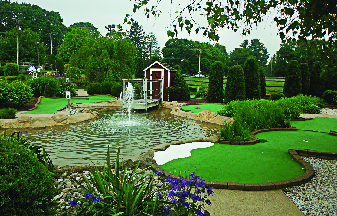 Miniature Golf at Farmview Golf Center in Hackettstown NJ