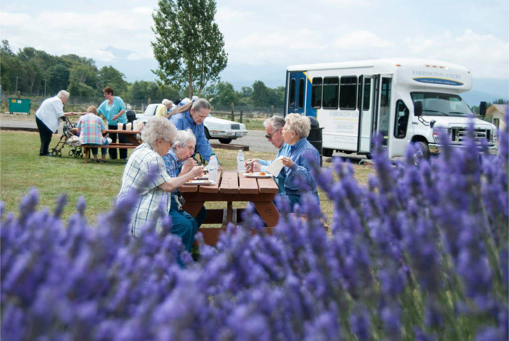Enjoy fun activities and outings with your friends at Farrington Court in Kent, WA - senior living communities near me in Kent, WA - assisted living facilities near me in Kent, WA