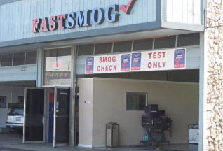Fast Smog in Campbell, CA garage exterior in Campbell