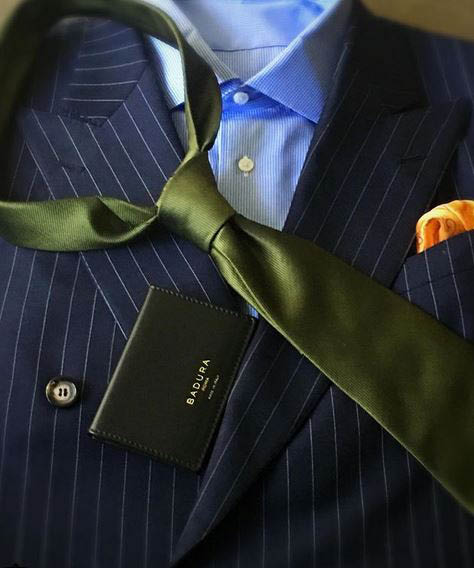 The necktie - in colour solids, pin dots, patterns and, of course, The Repp