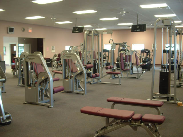 photo of fitness equipment at Female Physique's fitness center in Pittsburgh PA
