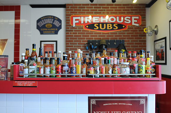 firehouse subs, sub condiments