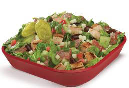 photo of salad from Firehouse Subs in Woodhaven, MI