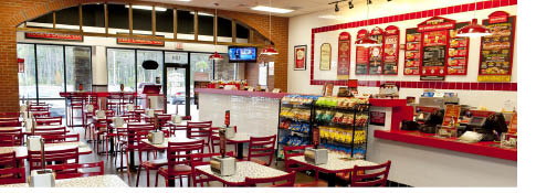 Inside Firehouse Subs Florham Park NJ