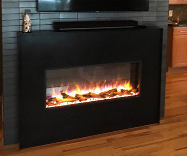 Insert fireplace by Fireside Hearth & Home