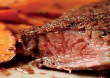 photo of steak from Fireside Grill in Diamondale, MI