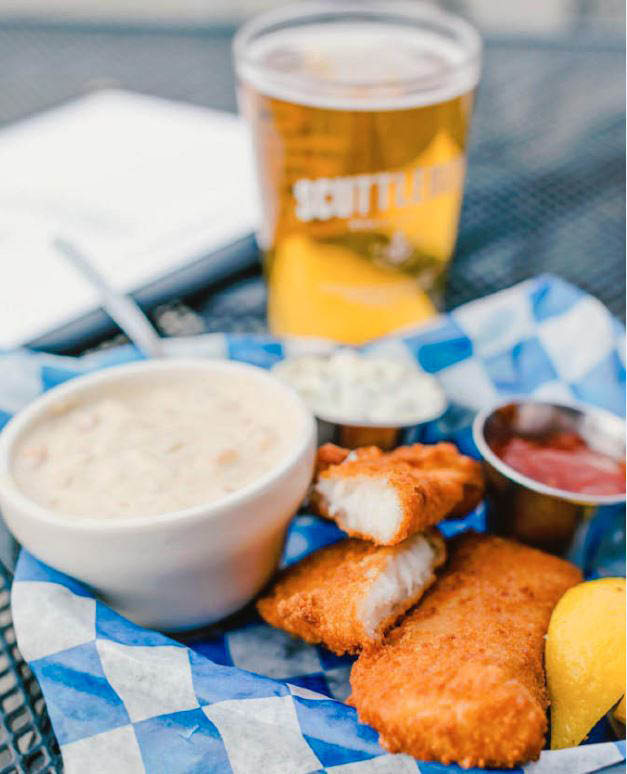 Scuttlebutt is well known for our fish & chips in Everett, Washington - Everett dining near me - Everett restaurants near me - Everett restaurant coupons near me - Everett dining coupons near me