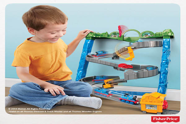 Fisher Price carries the original Thomas and Friends Play sets that will keep your child entertained for hours.