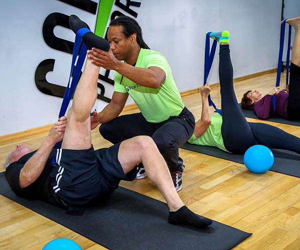 One-on-one personal training