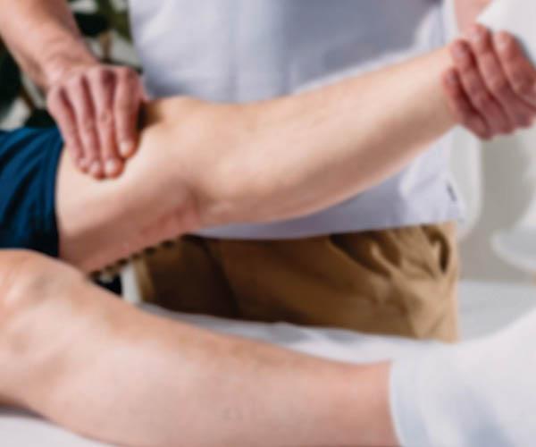 Post-rehab conditioning & massage -