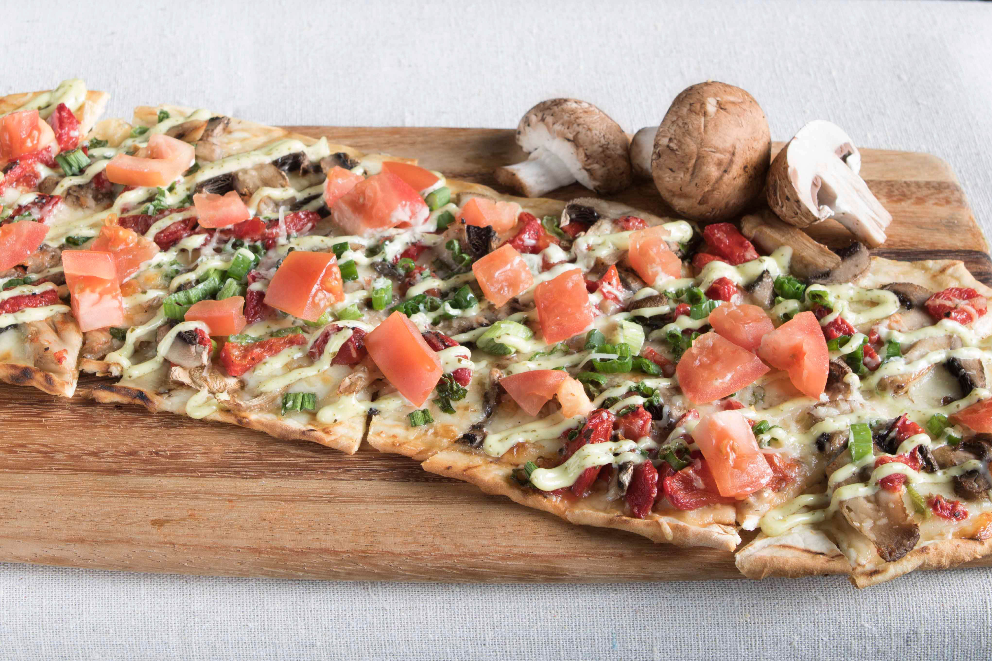 Petes Brewhouse Roseville Flatbread