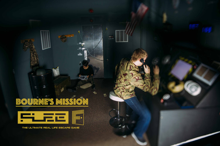 Flee Escape Room - Bourne's Mission - Seattle, WA - Recreation - Entertainment