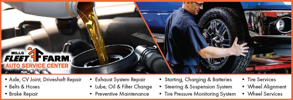 Automotive, Tire, Exhaust, Maintenance, Oil, Lube, Brake, Suspension, Filter