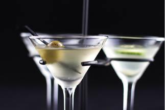 Craft cocktail martini