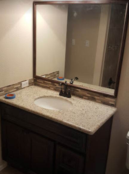 Bathroom remodel in Cypress, TX