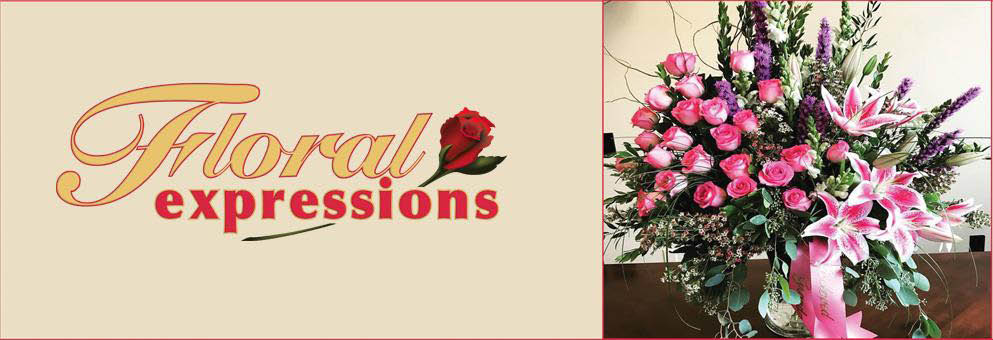 Floral Expressions Banner
