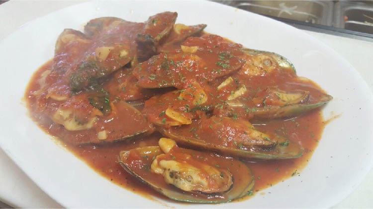 Mussels Marinara at Florham Park Pizza in Florham Park NJ