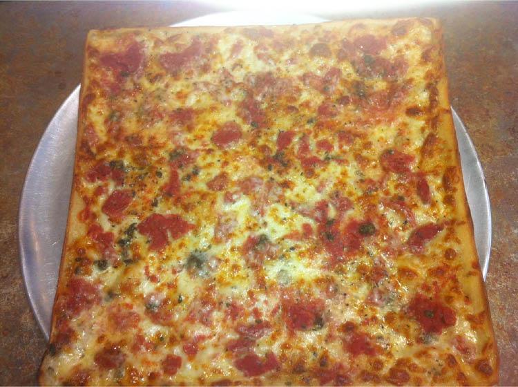 Our Famous Grandmas Pizza at Florham Park Pizza in Florham Park NJ