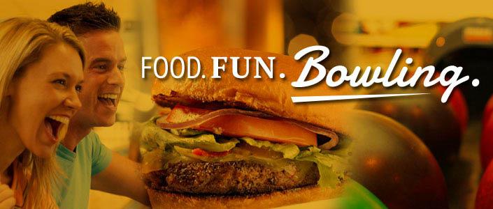 Food. Fun. BOWLING! near Concord, CA