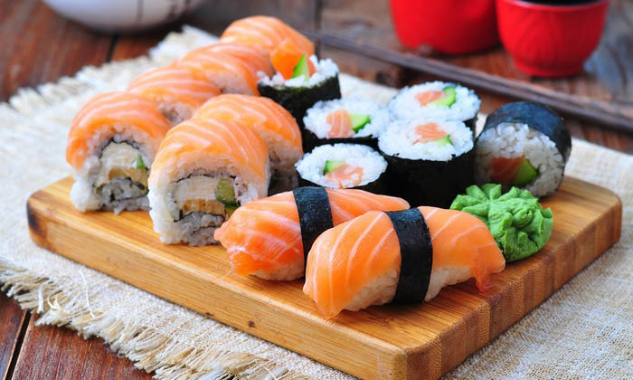 Picture of sushi at Fortune Buffet in Livonia