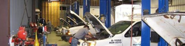 Multiple service bays for greater auto repair efficiency