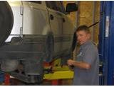 Our professional technicians can check your car's undercarriage