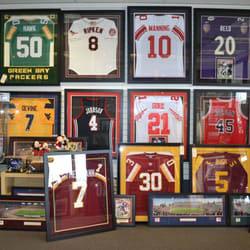 frame jerseys, frame sports memorabilia; dumfries, va