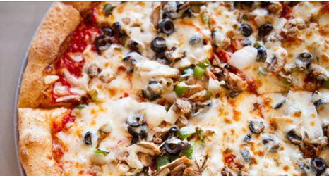 veggie pizza frantoni's williston park, ny