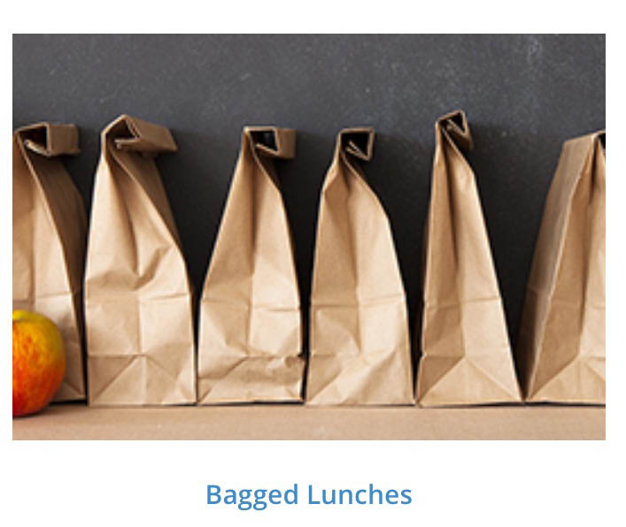 Brown bag lunch specials near Ramblewood
