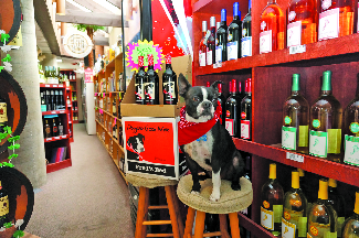 Doggone Good Wine bottles