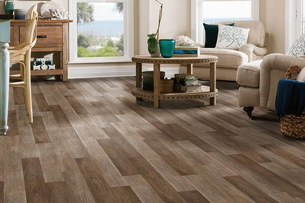 New planked floors installed by Freedom Flooring San Marcos