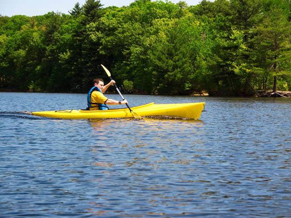 Fishing kayak near Reading, PA