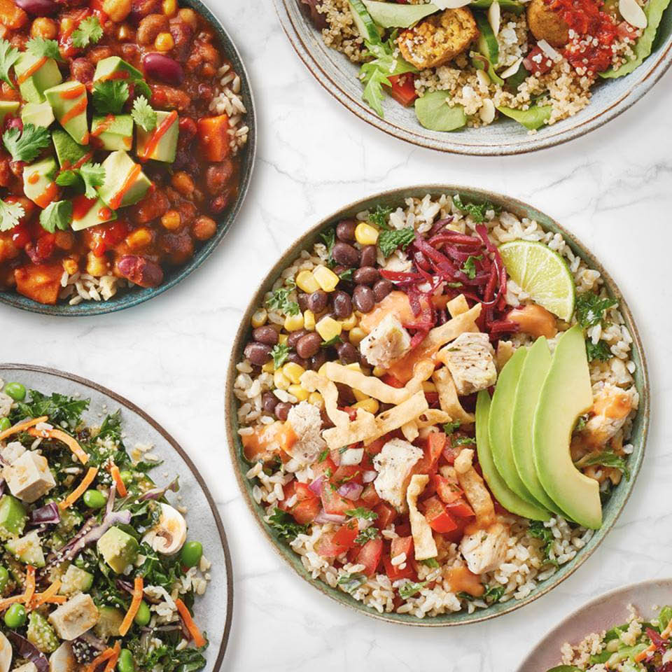 Variety of Healthy Bowls at Freshii in Morris Plains NJ