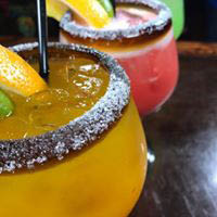 We offer over 400 tequilas for you to choose from. Domestic and imported beer and specialty margaritas.