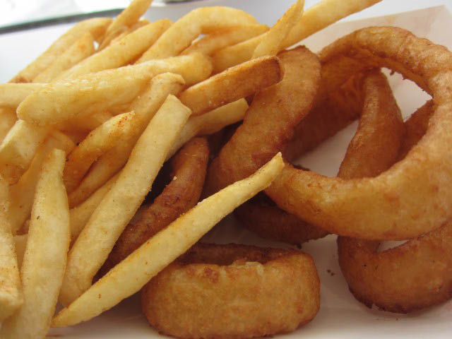 The Mess Deli potato - a local Long Beach favorite meal